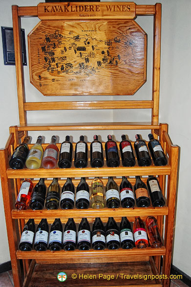 Wine offering at the Gizli Bahçe