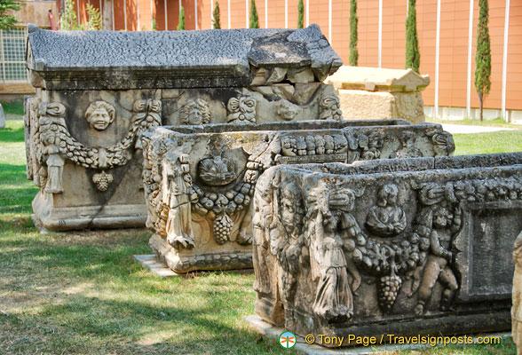 Sarcophagi at Aphrodisias