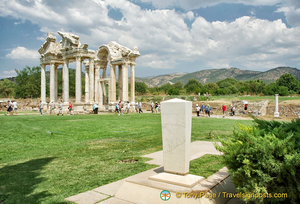 View of Aphrodisias site