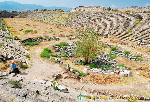 The Aphrodisias Stadium is one of the best preserved of its kind