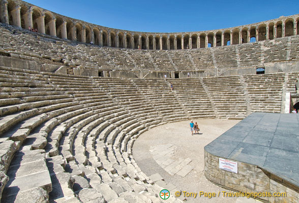 Aspendos Theatre - a magnificent sight