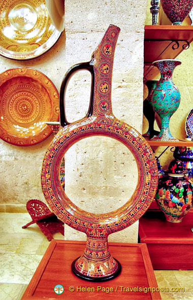 Avanos Pottery showroom pieces