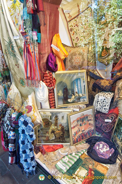 Bursa silk products
