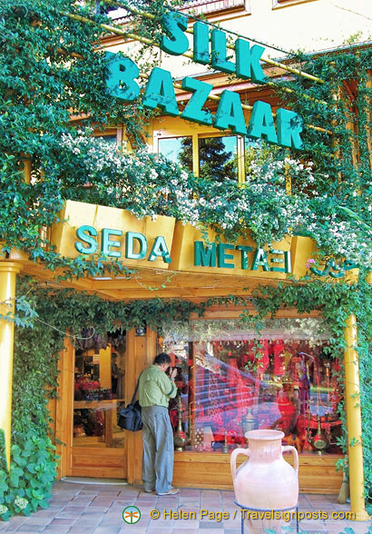Silk Bazaar in Bursa