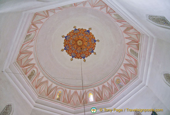 Ceiling decorations of the Green Tomb