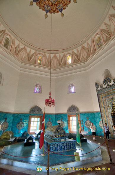 View of Green Tomb room