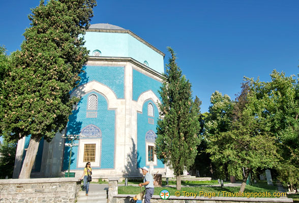 The Green Tomb of Sultan Mehmed I