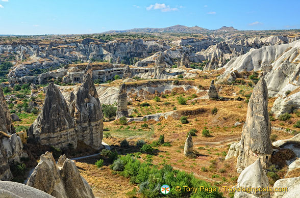Landscape of Göreme Valley