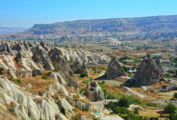 Fairy chimneys and cave dwellings of Göreme Valley