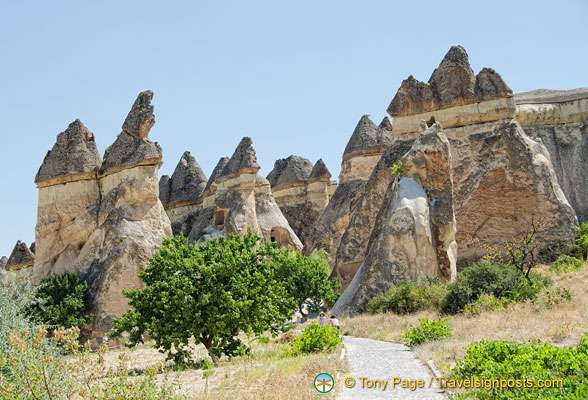 The extraordinary fairy chimneys of Cappadocia
