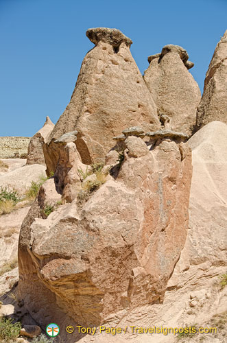 This group of fairy chimneys is call The Family