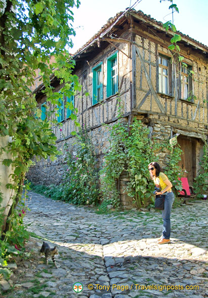 One of the Ottoman houses that Cumalikizik is noted for