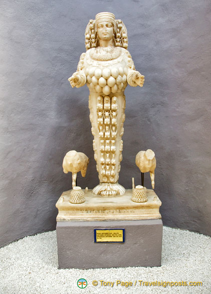 Artemis of Ephesus in the Hall of Artemis