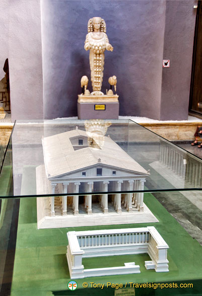 Model of the Temple of Artemis in Ephesus