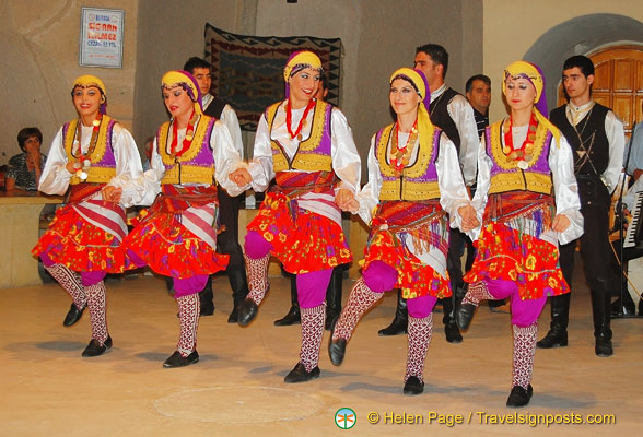 Folk dance from the Anatolian region