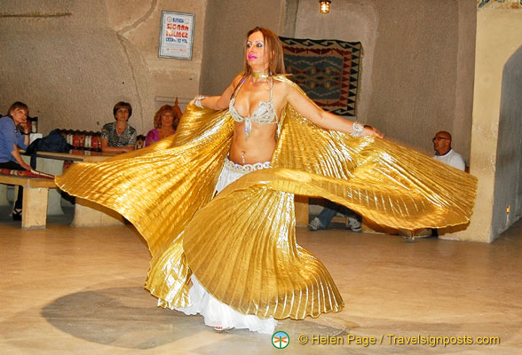 Belly dancing at the Folklore Shore