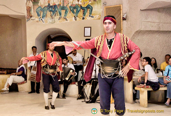 Folk dance at the Evranos Folklore Show