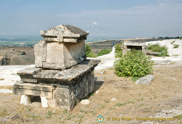 The Hierapolis Necropolis is the largest ancient graveyard in Anatolia
