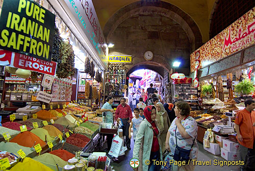 The Old Town and Egyptian (Spice) Market, Istanbul, Turkey