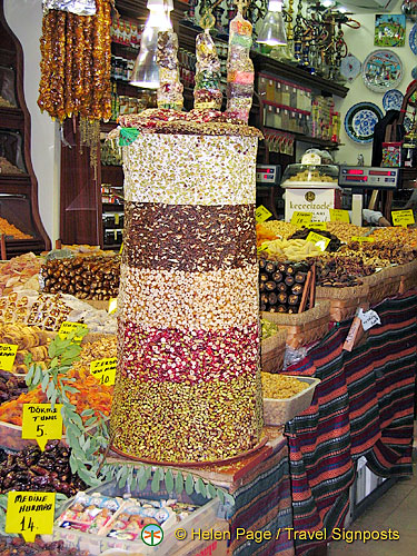 The Egyptian Bazaar or Spice Market, Istanbul, Turkey