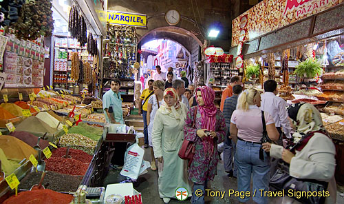 The Old Town and Egyptian (Spice) Market in Istanbul