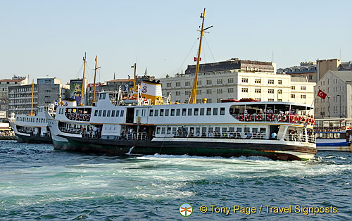 The Waterfront and Galata Bridge, Istanbul, Turkey