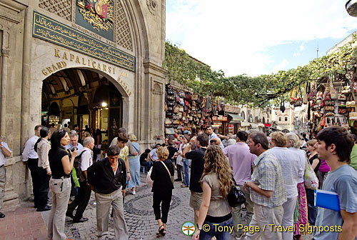 Around the Grand Bazaar, Istanbul, Turkey