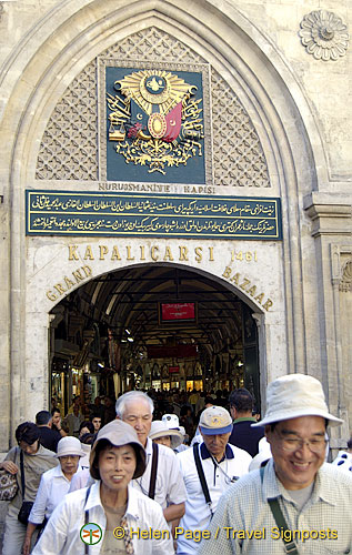 The Grand Bazaar, Istanbul, Turkey