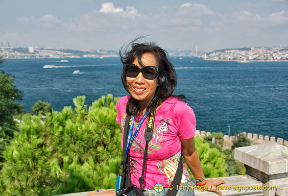 Me with a Bosphorus view