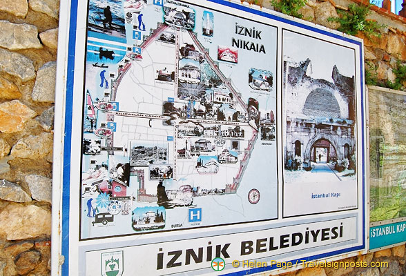 Map of Iznik