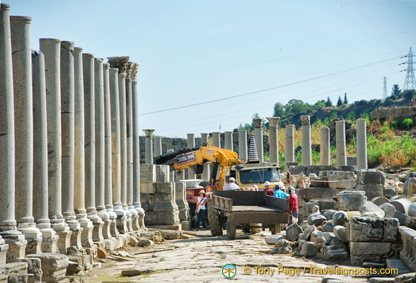 Reconstruction works by the Istanbul University