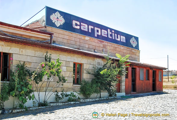 Carpetium carpet factory building