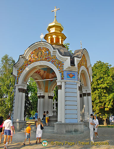 St Michael's Monastery and around, Kyiv (Kiev)