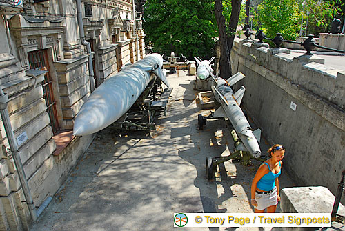 Torpedoes at the Black Sea Fleet Museum