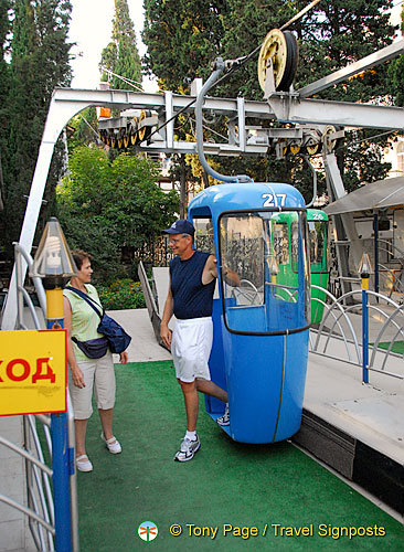 Cable Car Ride, Yalta