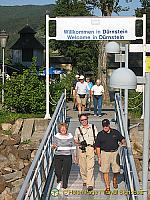 Mission Accomplished, the modern-day invaders leave Durnstein