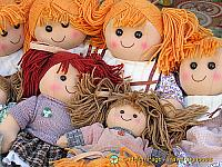 Cabbage patch dolls of Melk