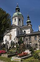 St Peter's cemetery is the resting place of many of Salzburg's dignitaries, artists, scholars and merchants