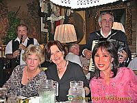 Fellow diners at the Marchfelderhof