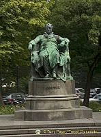 Statue of Goethe