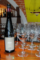 This Denk riesling is classed as 'Smaragd', a late-harvest, rich and powerful, dry wine