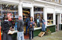 Abbey No. 8 is an interesting beer store at Handschoenmarkt 8