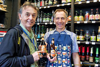 Tony with Jan, owner of Abbey No. 8