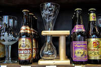 Kwak beer and its unique Kwak beer glass