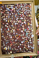 Badges for sale in Nessebar village