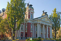 Ivan Vazov National Theatre, Bulgaria's oldest theatre and an important Sofia landmark