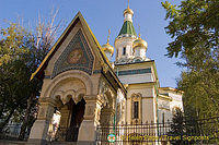 St. Nikolai Russian Church, built between 1907 and 1914