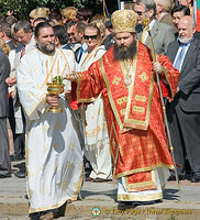 St Sofia Day religious ceremony