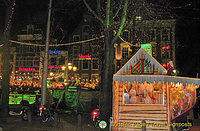 Amsterdam Christmas Fair and the American Hotel