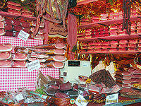 All kinds of cured meats